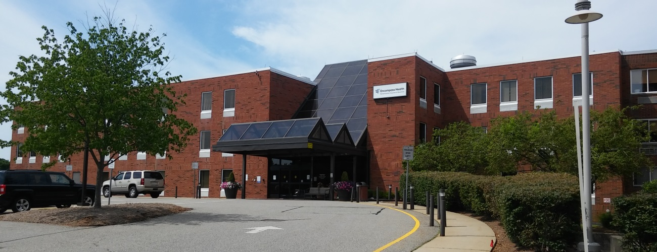 Mass. Eye and Ear Braintree building exterior